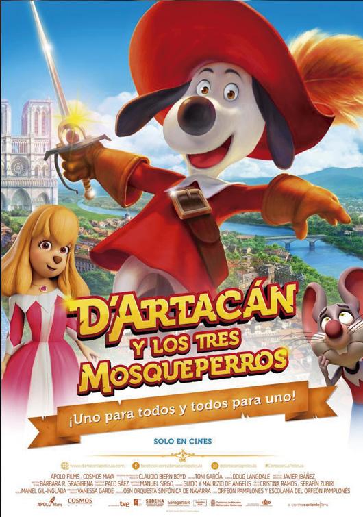 DARTACAN Y LOS TRES MOSQUEPERROS